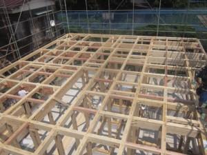 お近くに多摩の檜を使った建物が上棟致します!