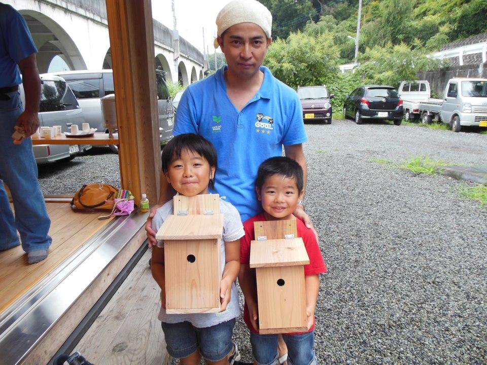 巣箱作り教室