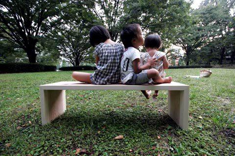 素敵なベンチ!