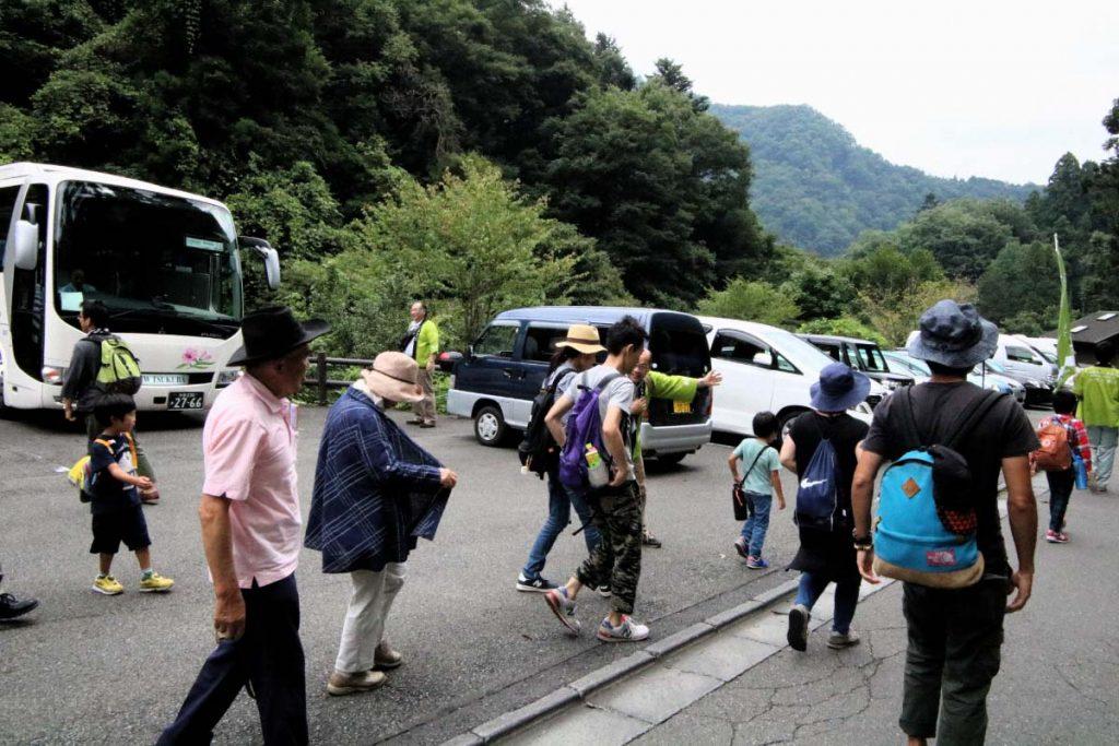 8月のバスツアー
