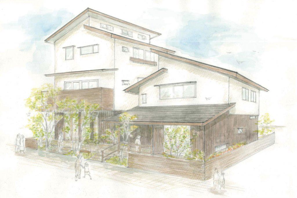 3日間限定 Tokyo Wood×三鷹展示場 構造見学会